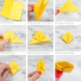 Origami pineapple instructions
