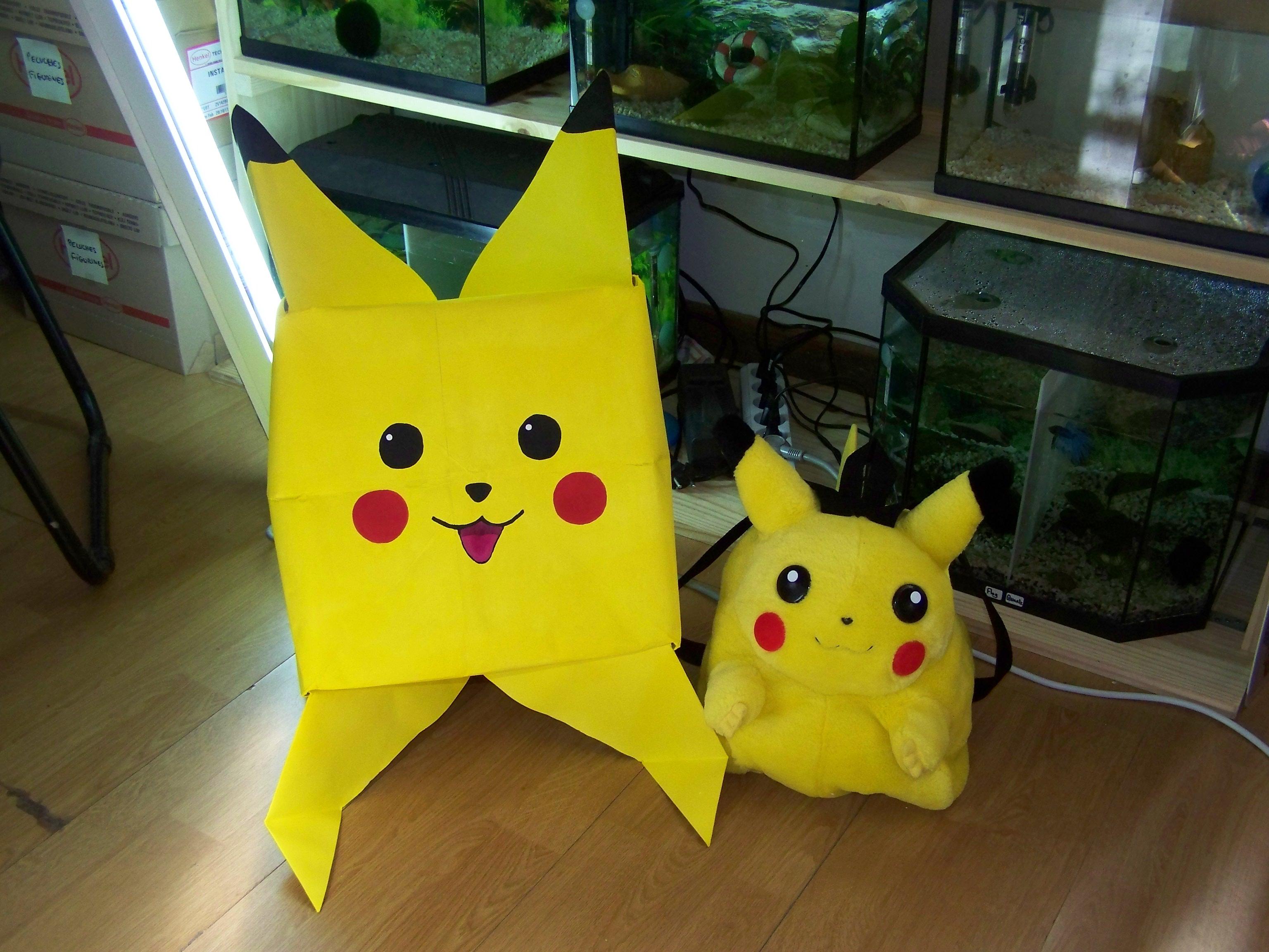 origami pokemon facile
