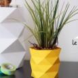 Origami pot de fleur