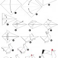 Origami poule facile