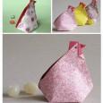 Origami pour paques