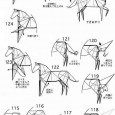 Origami pterodactyl easy
