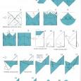 Origami rabbit diagram