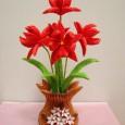 Origami rose 3d