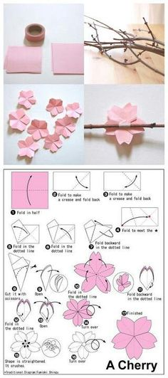 Origami Rose Tuto