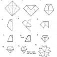 Origami sakura tutorial