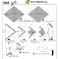 Origami seagull instructions