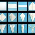 Origami serviette lapin