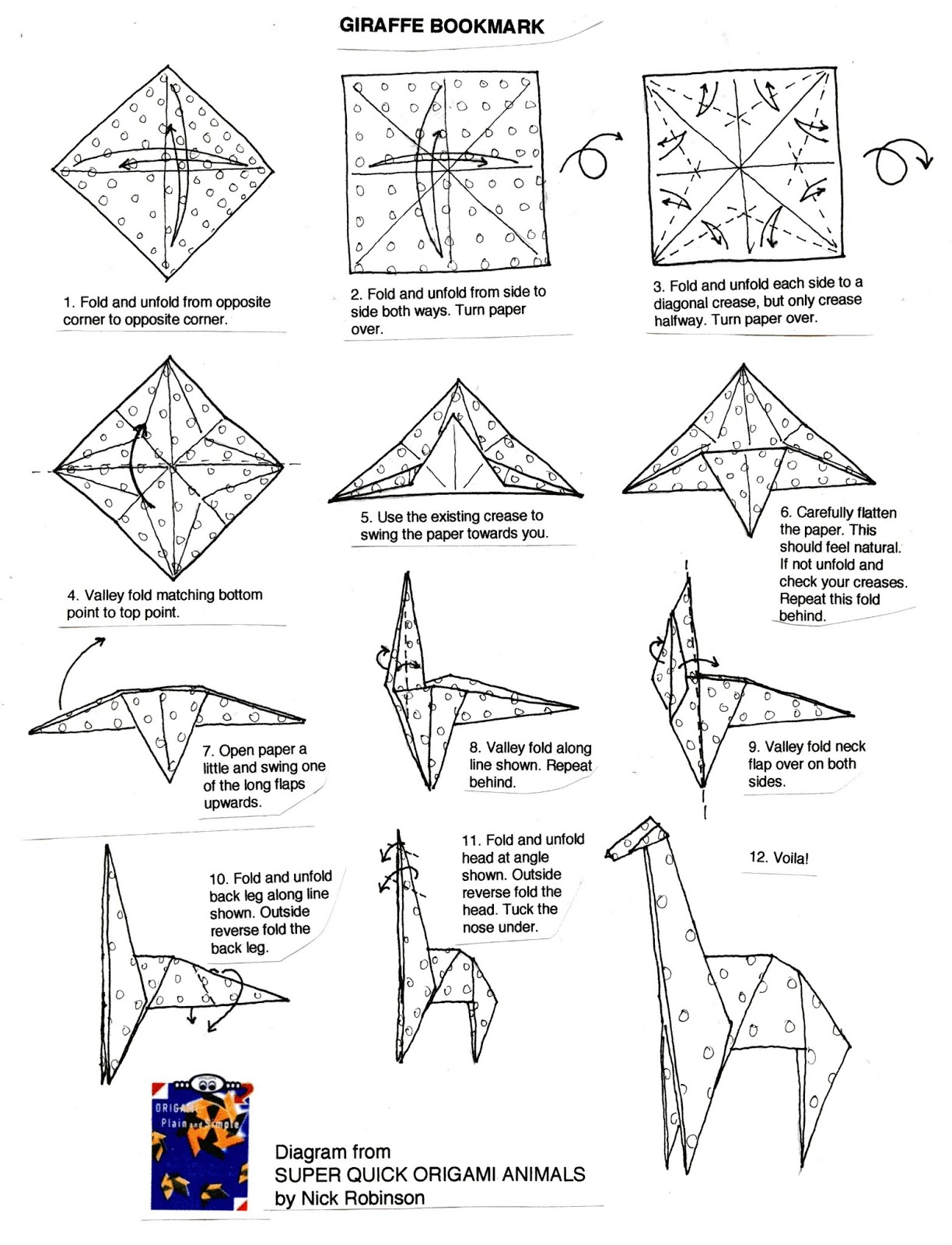 origami simple instructiuni