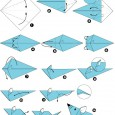 Origami souris simple