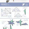 Origami star diagrams