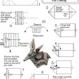 Origami step by step animals