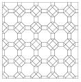 origami tessellation diagram