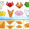 Origami tete de cochon