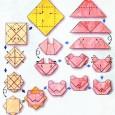 Origami tete de lion
