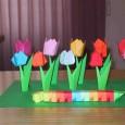 Origami tulipani