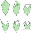 Origami vase step by step