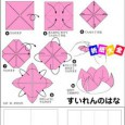 Origami water lily instructions