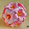 Origami ziedi