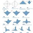 Origamie oiseau facile