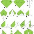 Origamie paon
