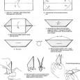 Paper banger origami