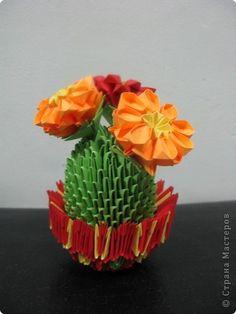 Paper Flower Origami 3d Model