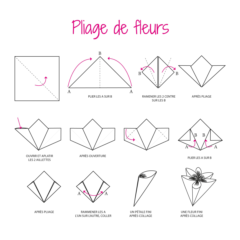 papier pour origami 3d