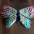 Papillon origami 3d