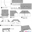 Piano origami instructions