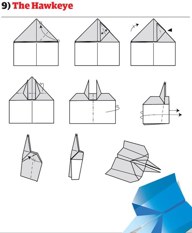 pliage avion papier facile