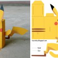 Pliage pikachu