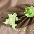 Pliage serviette grenouille