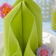 Pliage serviette tulipe