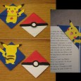 Pokemon bookmark origami