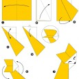 Renard en origami