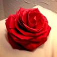 Rose origami complex