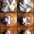 Rose origami tuto