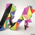 Shoe origami