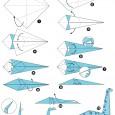 Simple dinosaur origami