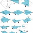 Souris origami