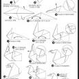 Swan origami tutorial