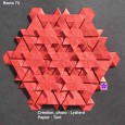 Tesselation origami