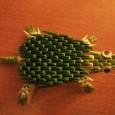 Tortue origami 3d