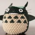 Totoro origami 3d