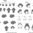 Totoro origami instructions