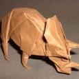Triceratops origami