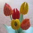 Tulipany z papieru