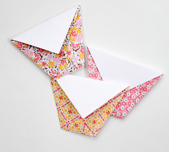 tuto enveloppe origami