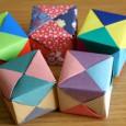 Tuto origami cube